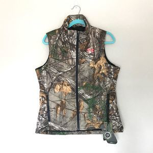 Women's Under Armour Vest Camo Hunting Realtree